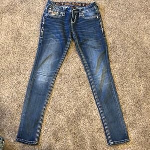 Skinny rock revival jeans